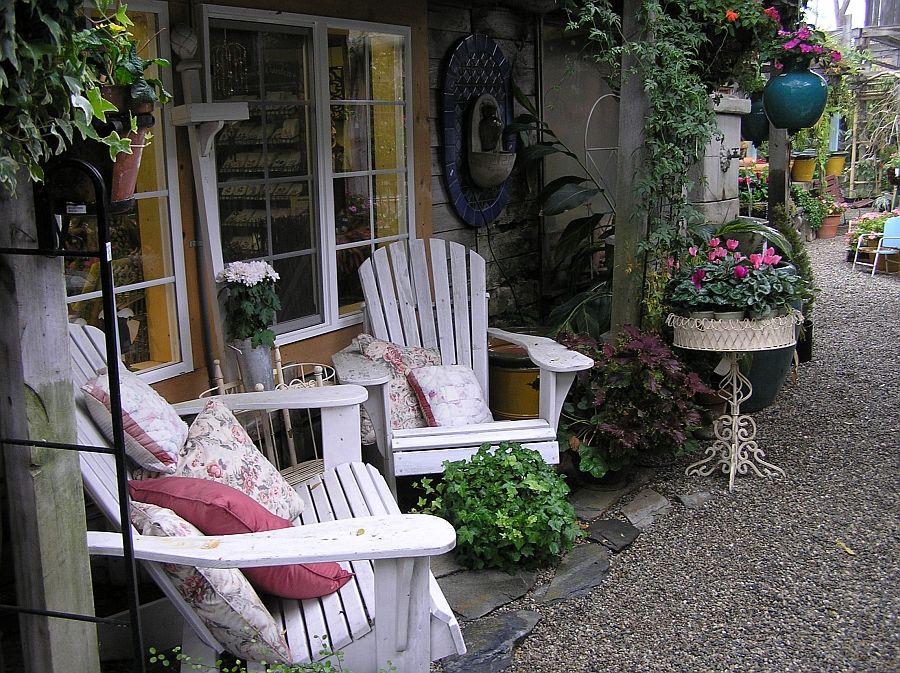 Giardini arredamento: arredo inglese giardino