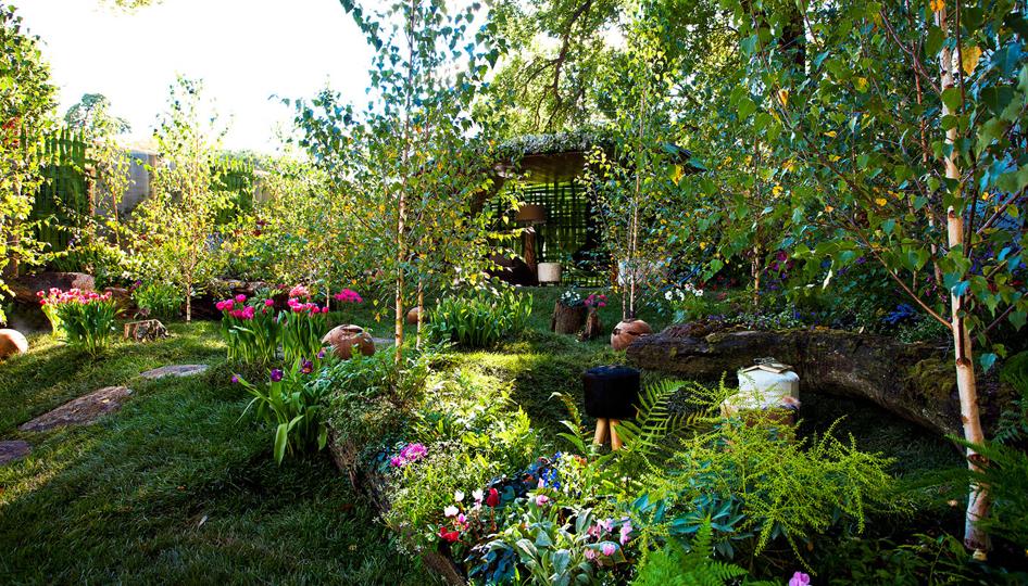 จัดสวนสวย