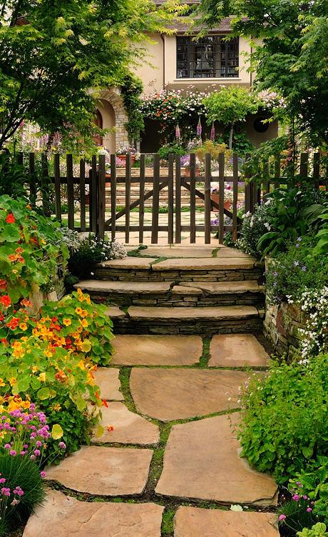 ทางเดินในสวน