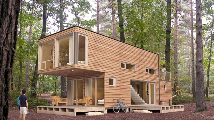 บ้านไม้สำเร็จรูป