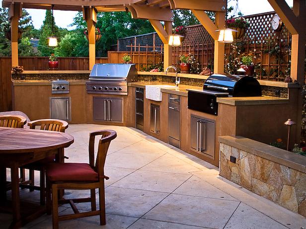 แบบห้องครัวนอกบ้าน