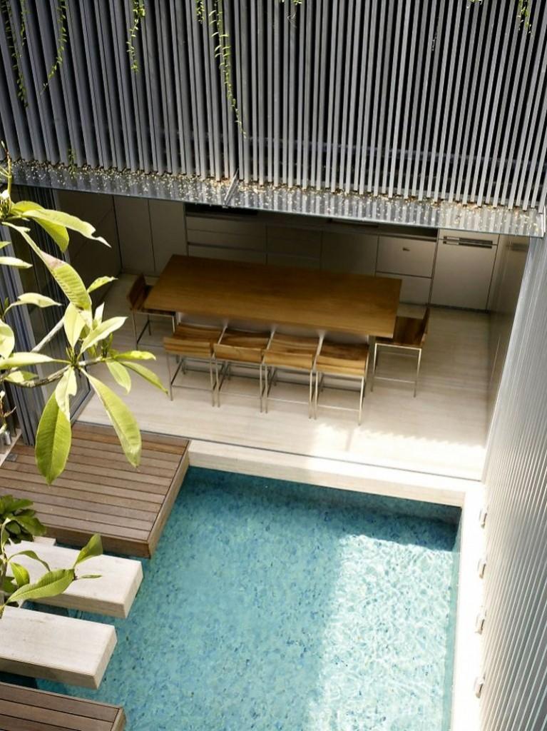 แบบสระว่ายน้ำในบ้าน