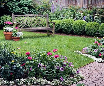 แบบสวนนั่งเล่น