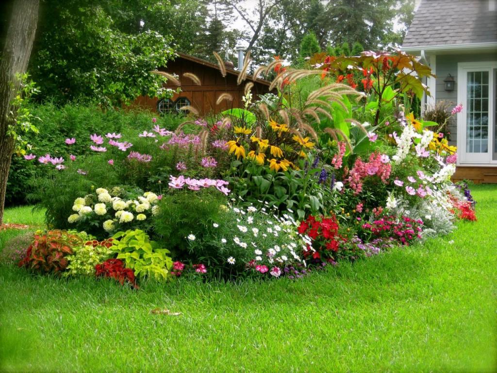 การจัดสวนดอกไม้ขนาดเล็ก