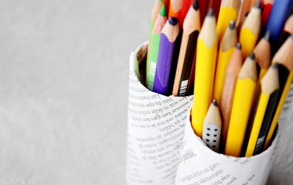 ประดิษฐ์ที่เก็บดินสอ