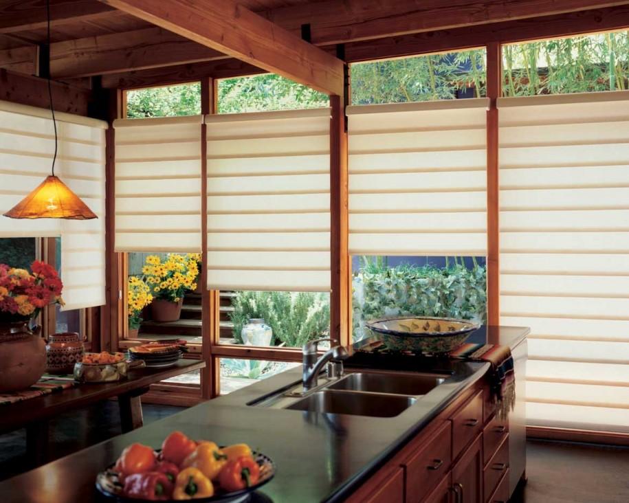 ม่านหน้าต่างห้องครัว