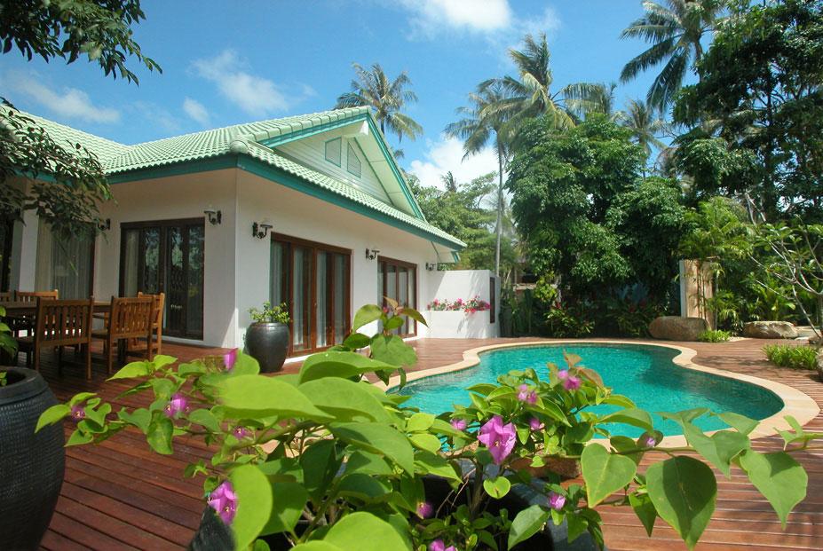 บ้านพักตากอากาศที่เกาะสมุย1