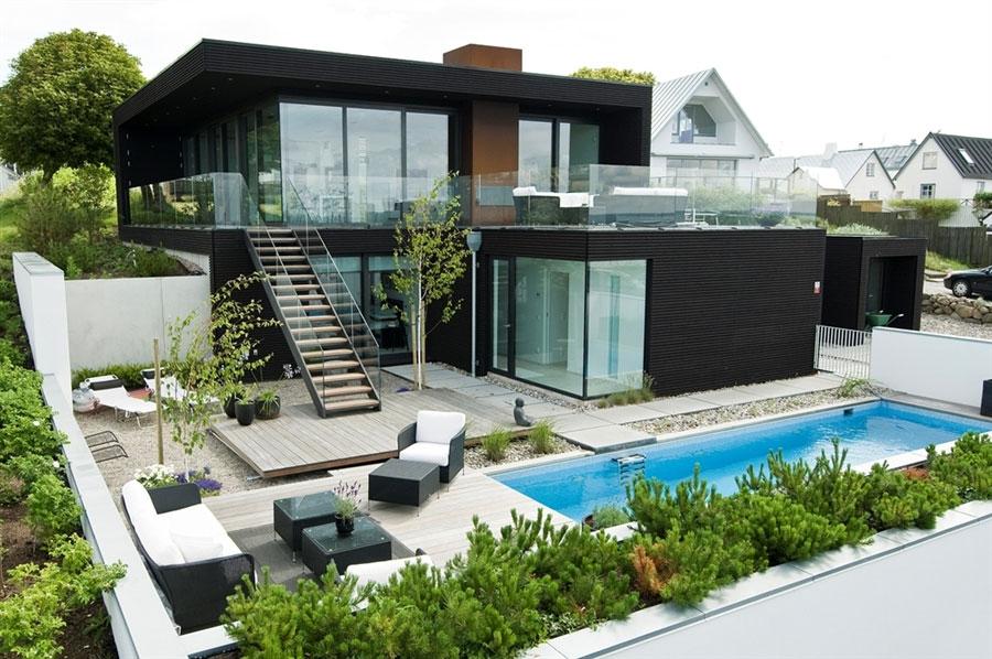 บ้านสองชั้นเรียบง่าย สไตล์รีสอร์ท2
