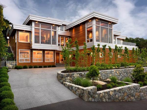 บ้านไม้สองชั้นสวยคลาสสิค1