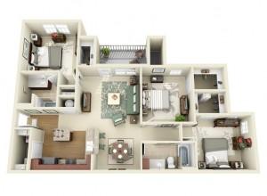 21-3d-floor-ploan-3-bedroom