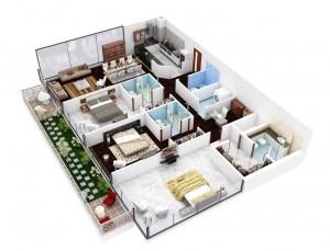 4-efficient-3-bedroom-floor-plans