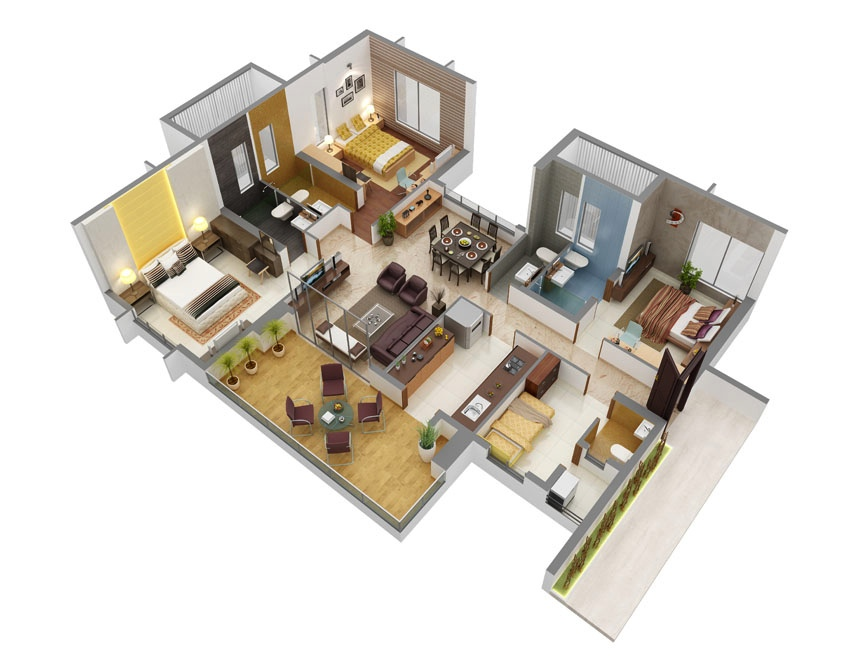 43-beautiful-3-bedroom-plans