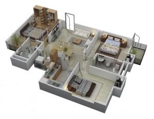 44-3-bedroom-floor-layout-of-houses