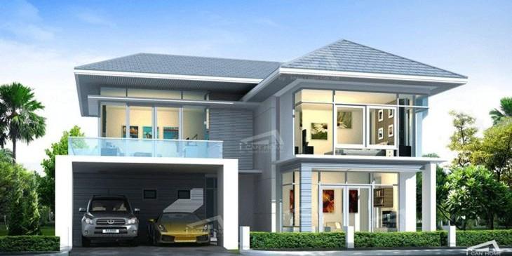 แบบบ้าน tropical modern6t