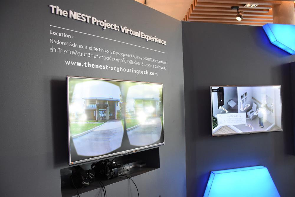 ดูบ้านตัวอย่างเสมือนจริงด้วยเครื่อง Oculus
