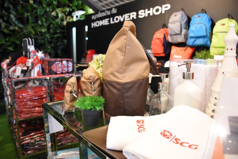 Home Lover Shop มีของที่ระลึกจาก SCG จำหน่ายด้วย