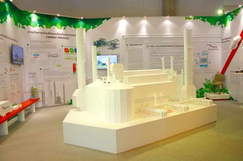 โซน Eco-Inno Factory จัดแสดงเรื่องราวของโรงงานสีขาว